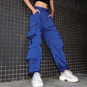 CLASP ROYAL BLUE CARGO PANTS